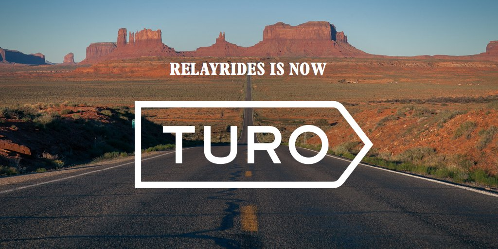 Today we are excited to unveil our new identity as Turo. The story behind the rebrand: https://t.co/WF78BN67bJ https://t.co/VZyi5JVSBk