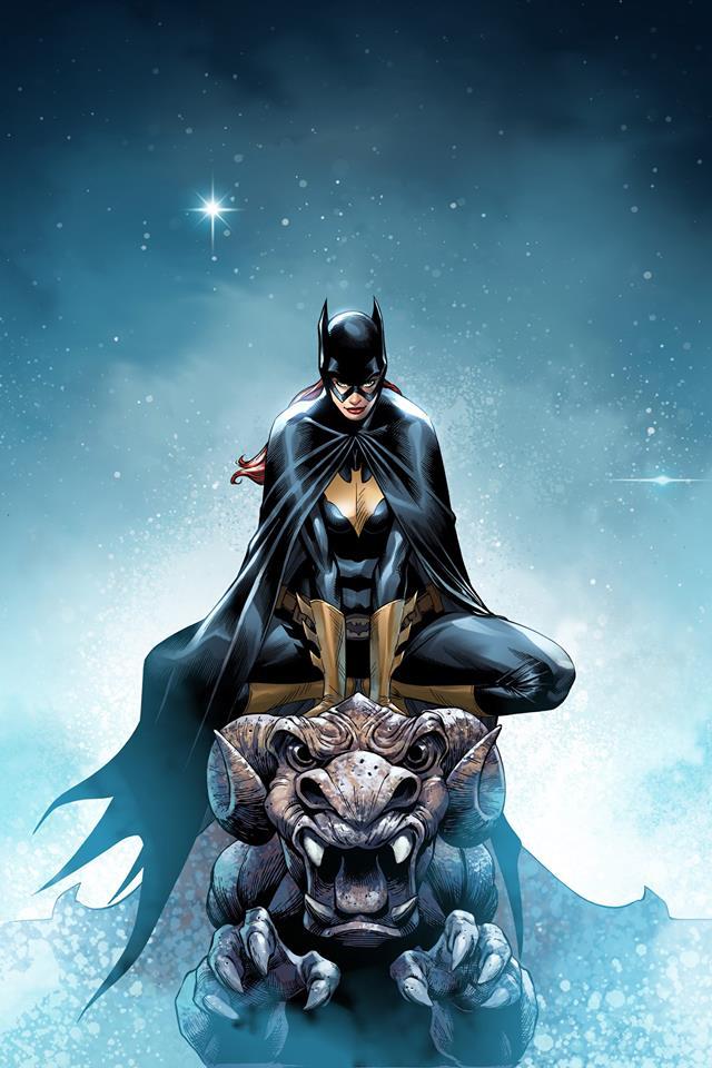 Batgirl par Mike S. Miller https://t.co/WaZeTZ77l1