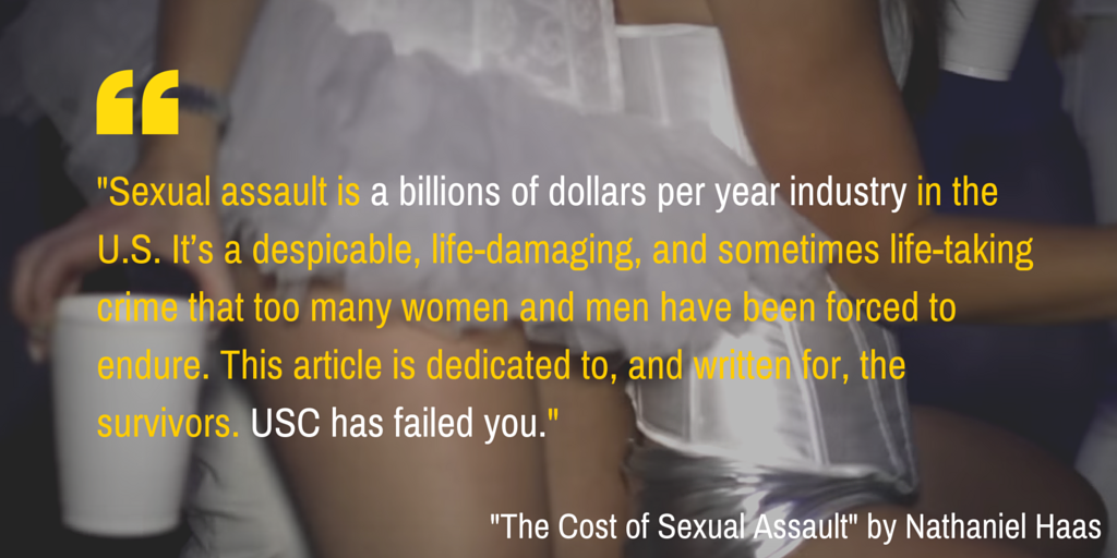 """Do what you will, and f--- who you must."" Inside the cost of sexual assault at @USC: https://t.co/oNFvTfSdjw https://t.co/1q0qjp14GH"