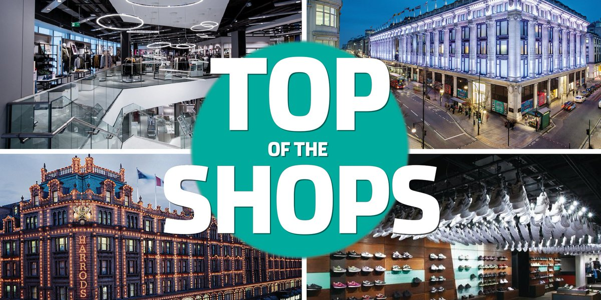 Who is leading the way in #store design? Find out in our #TopoftheShops league table: https://t.co/0TaXs0YeO9 https://t.co/niDGO1Dd9m