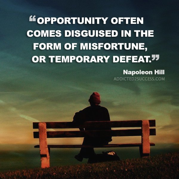 Find the opportunity in the misfortune! https://t.co/oMZ3aXWrAs