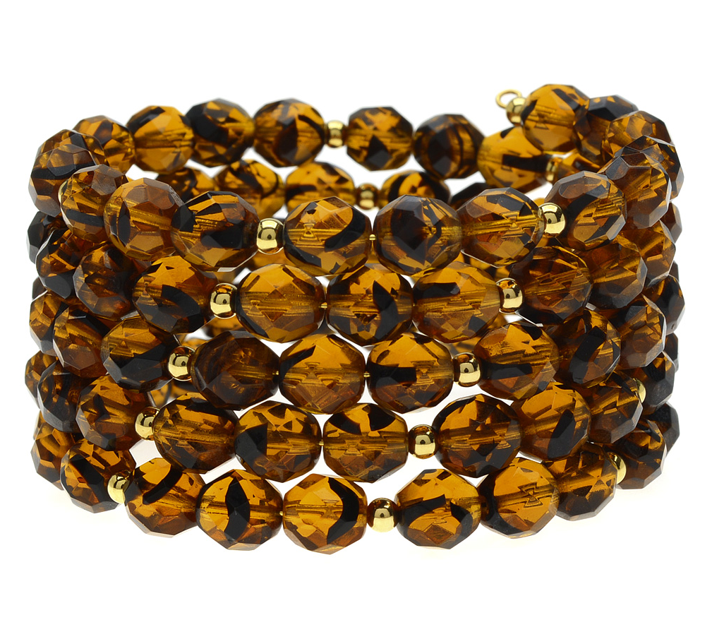 How to: Tortoise Shell Memory Wire Bracelet  https://t.co/xBp2jRhP8Y #memorywire #diy #giftideas https://t.co/ISBZqt6rf8