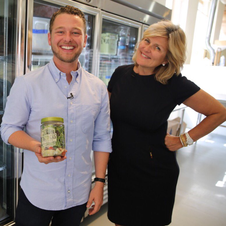 Salads in vending machines? Check. Healthy fast food? Yup. Tonight @NBCNightlyNews @FarmersFridge @TVjake https://t.co/a6ZpNu8kXM