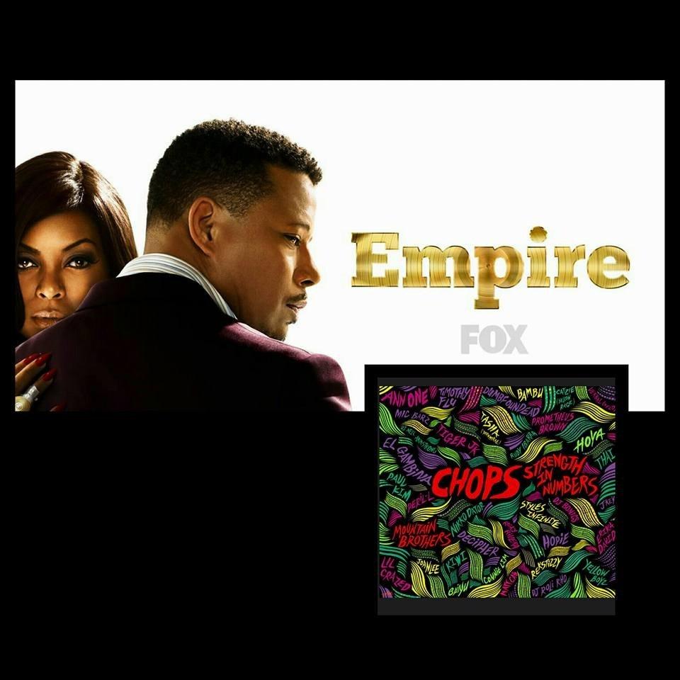 @CHOPSmusic x @kiwizzo x @rubyibarra x @AnnOneMusic x @djneilarmstrong tomorrow night on Empire on FOX 9PM! https://t.co/ynB9UlU7sm