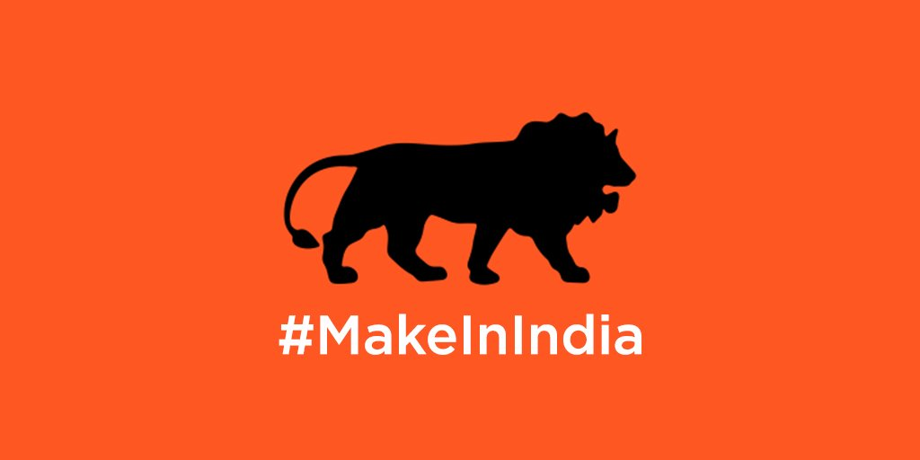 #MakeInIndia is first non US based brand to get @Twitter emoji promoting India as a global manufacturing hub @jack https://t.co/GHA28whCRC