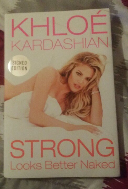 RT @KhloMoney_Dolls: Got my copy of #stronglooksbetternaked @khloekardashian ???????? https://t.co/Q6DlEWJ5o4