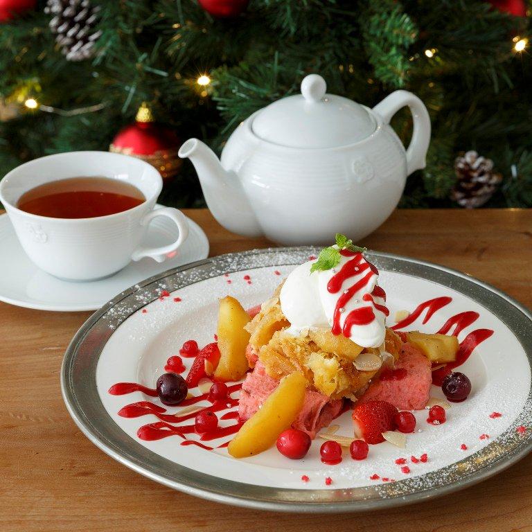 クリスマス限定「Xmasアップルパイフレンチトースト」が、11/5から全国のティールームに登場!https://t.co/aqzcllTog1 #Xmasアップルパイプレンチトースト #AfternoonTea #アフタヌーンティー https://t.co/GhJzz6rajh