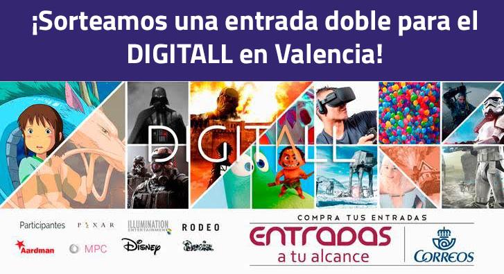 ¿Quieres ir al evento de creación digital @digitallevent?  -Síguenos -Haz retweet ¡Suerte!