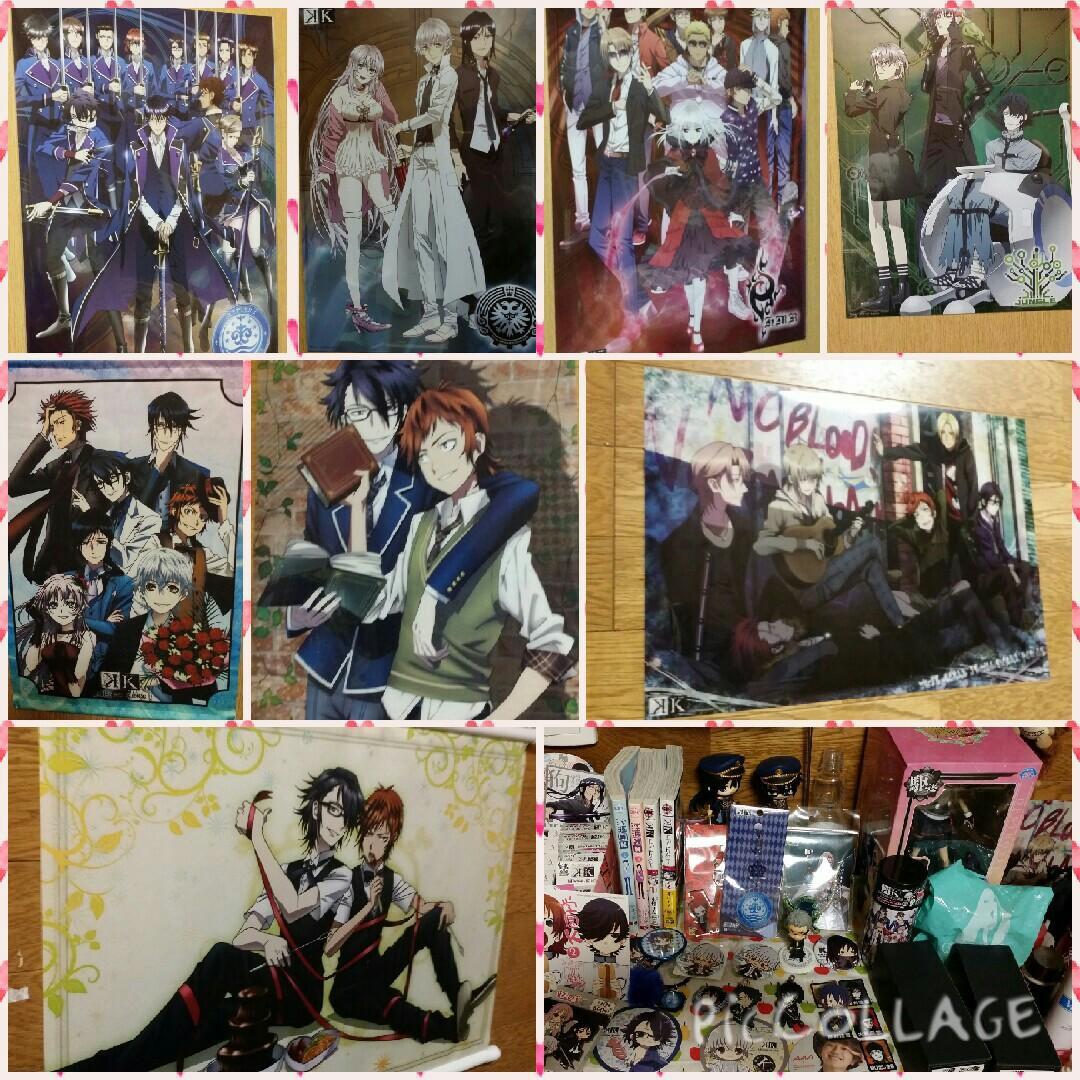 私の部屋のKをご紹介♥#anime_k #Kクラスタ