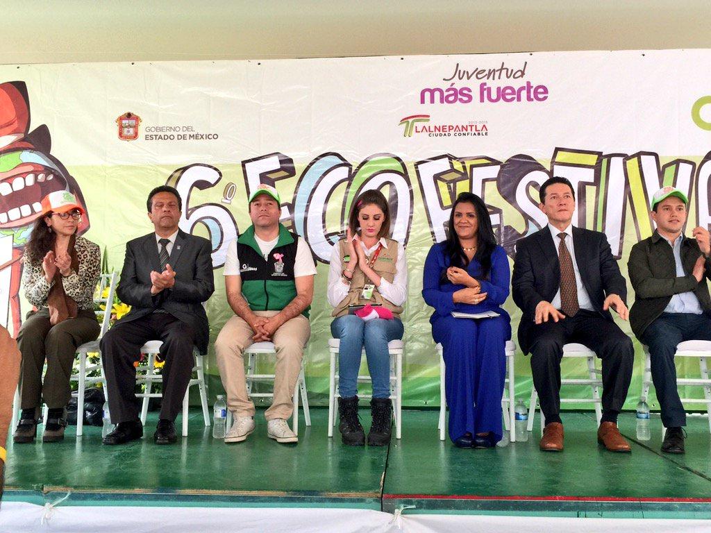 #AlMomento Inicia acto inaugural del #EcoFestival 2015 en #Tlalnepantla Juventud Más Fuerte @edomex @sedesem0 https://t.co/zq6THS8yDT