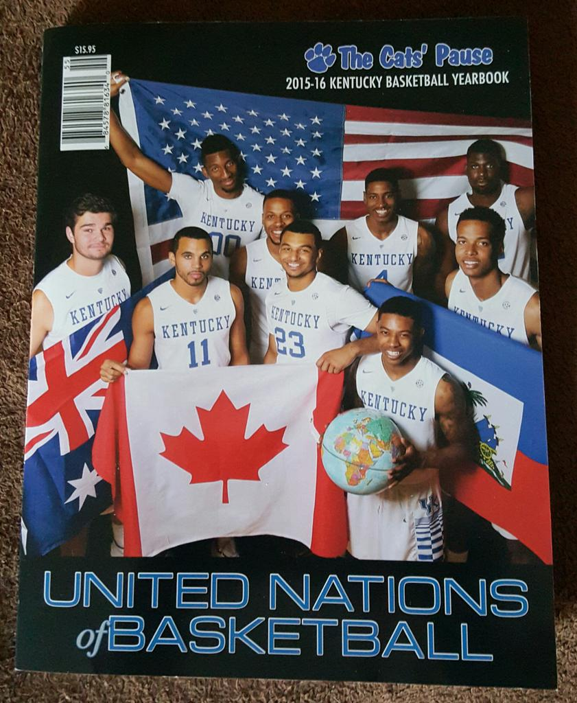 Gotta pickup the @TheCatsPause247 yearbook every year #bbn #weareUK https://t.co/uXrnKzNLon