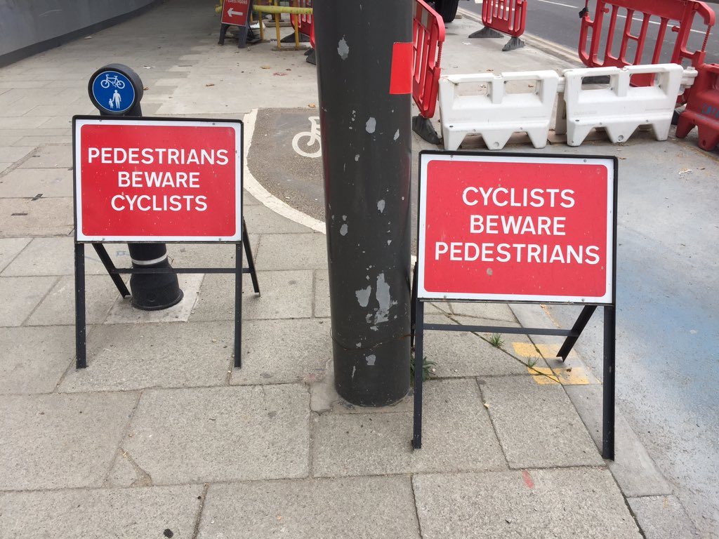 London's Most Paranoid Pavement https://t.co/YhRtMU0wBs