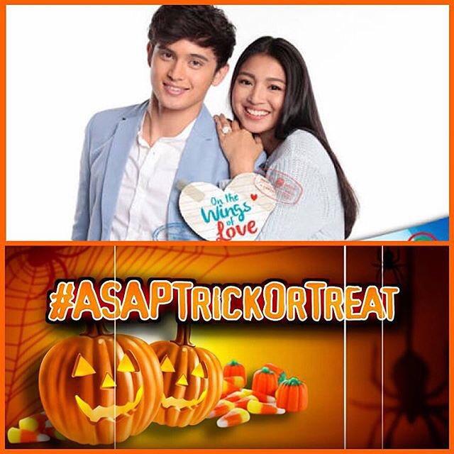 ASAP ABS-CBN (@ASAPOFFICIAL): Makiki-#ASAPTrickOrTreat ang #JaDine this Sunday kasama pa ang buong #OTWOL kapamilya!!! https://t.co/pZ1MlkWOVj