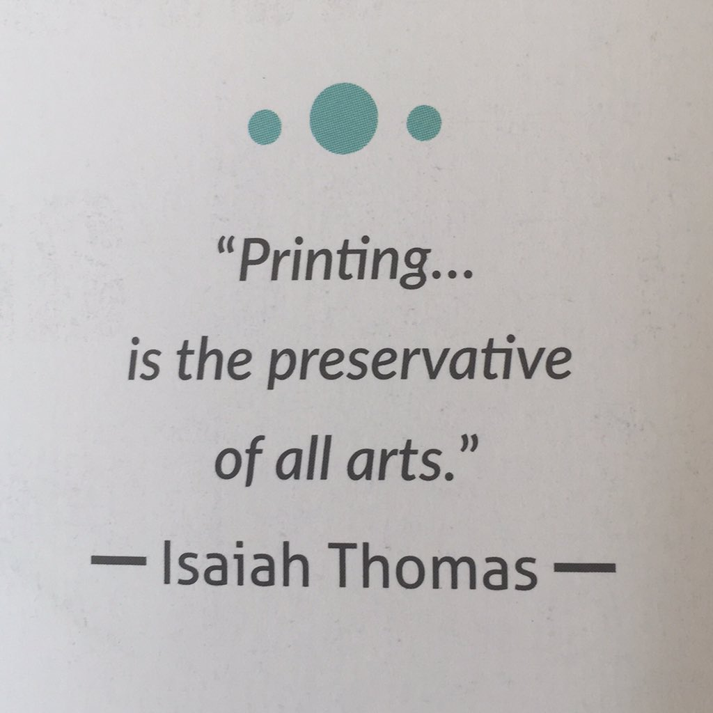 In a world of clouds, print is still looked upon as an authority - credibility in a internet based society. #print https://t.co/fRvb4fX0MM