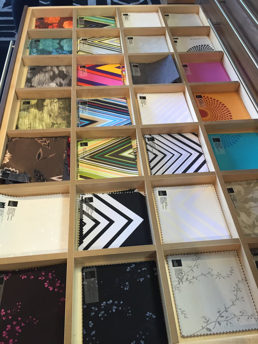 Forget boring blackout shades! @theshadestore has so many colorful patterns! #interiordesign @WestEdgeDesign https://t.co/gluoeWDJ9G