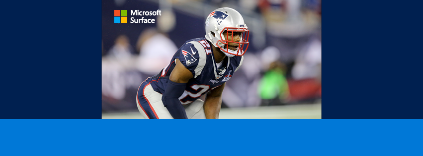 Celebrate the launch of @Surface Book and Surface Pro 4 on 10/26 with @Patriots CB @Mac_BZ: https://t.co/pZDMckhRSh https://t.co/PWx6skJXE1