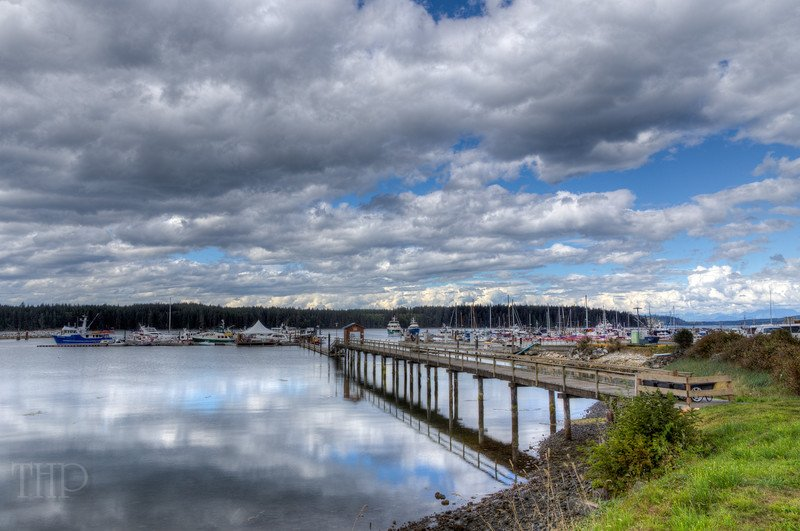 Harbor - Port McNeill, Vancouver Island, British Columbia, Canada #HDR #photography #seascape #harbor #reflection https://t.co/iPaQi7xQ4M