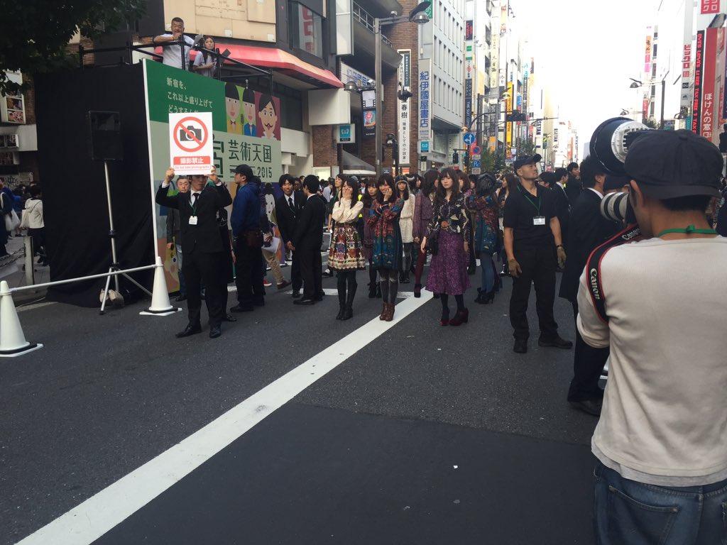 再び乃木坂46のみなさんの登場です! https://t.co/lSiRKIiBHN
