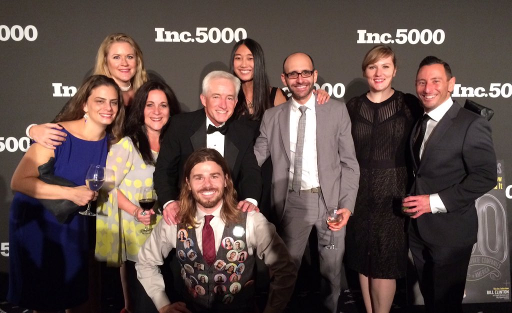Thank you to @JessicaMah @DanPriceSeattle for helping make @inc5000 a success! @Inc @IncLiveEvents #inc5000 https://t.co/oIQvWxKIGR