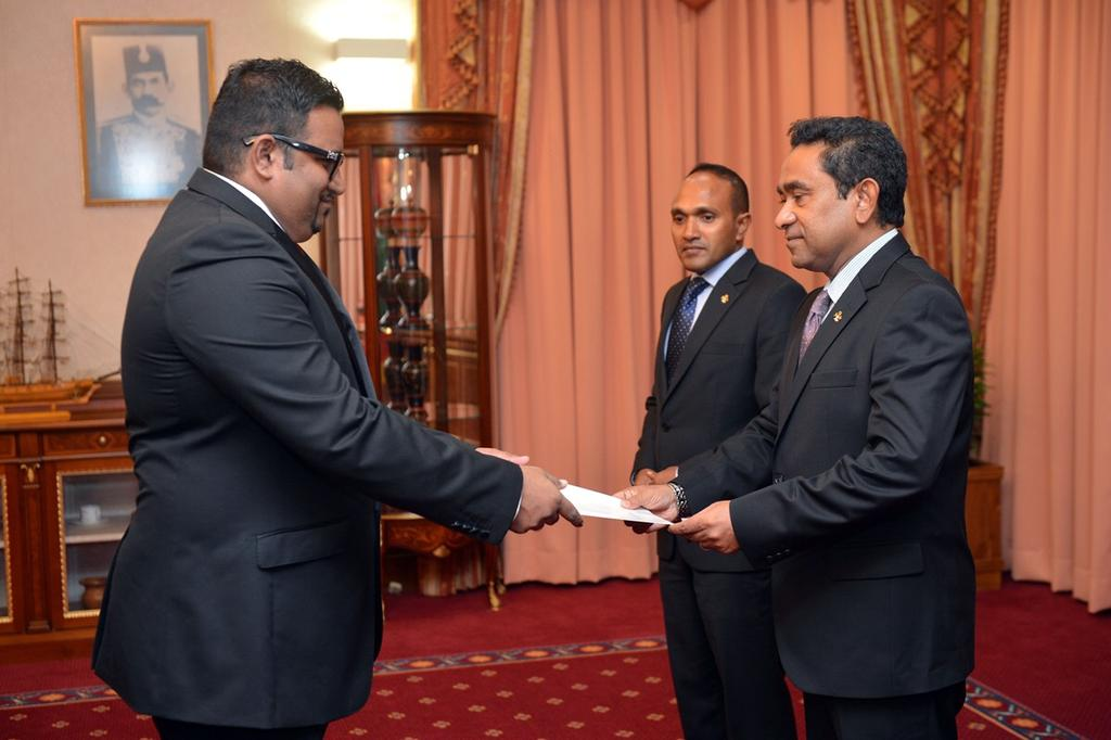 The tale of an aspiring dictator and his cronies. One VP impeached, the replacement arrested today. #Maldives  https://t.co/hDKubsgToS