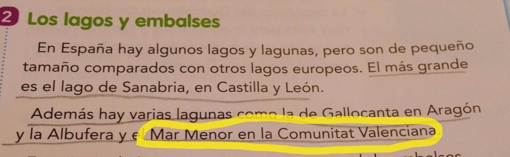 A Vicens Vives vamos a tener que aclararles dónde está el Mar Menor... #Murcia libro 6° primaria https://t.co/6y0vRfxejc