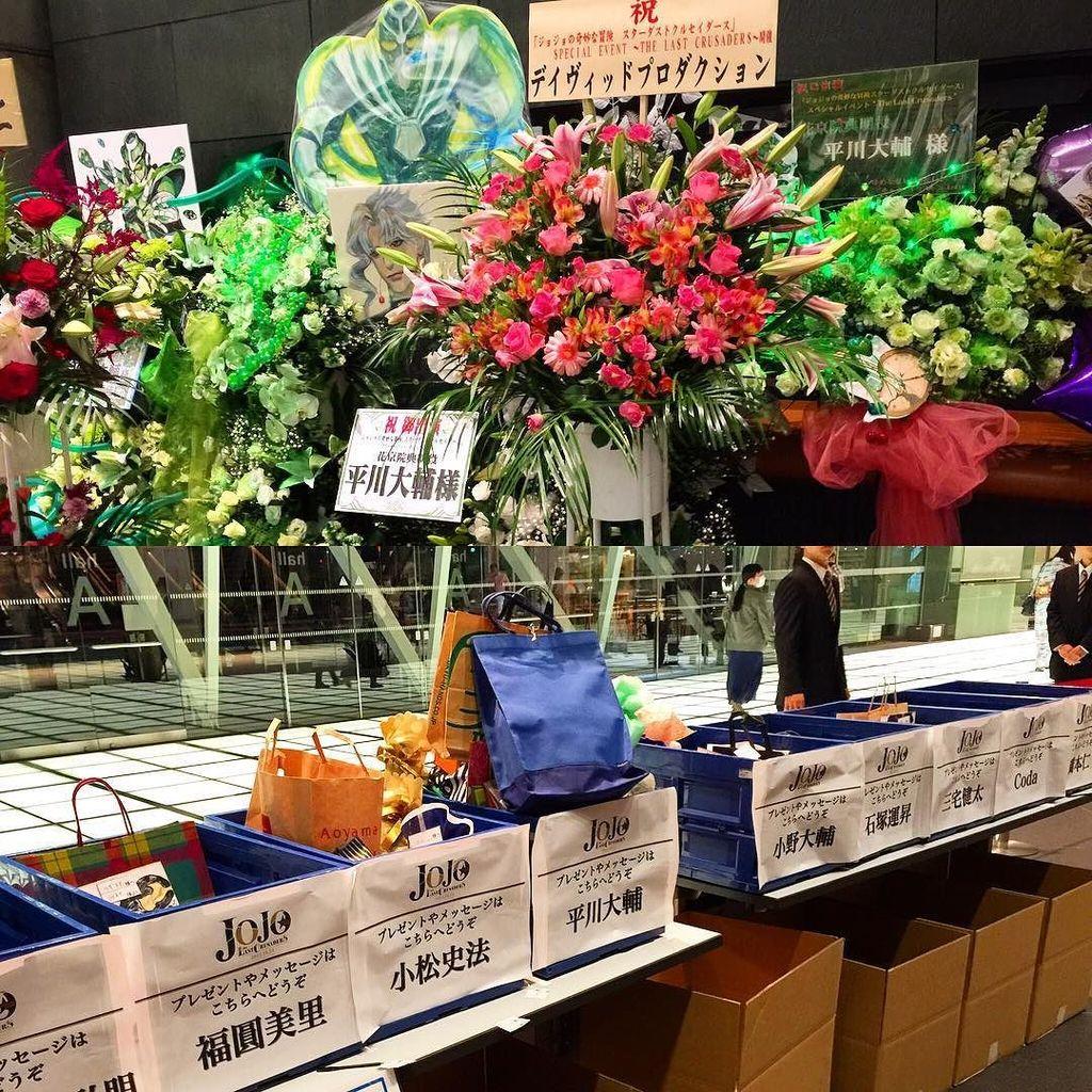 ジョジョイベントにきまちた。花京院の中の人、人気すごいです。 #jojo -Instagram https://t.co/qDwGtpq3pT https://t.co/QjnmIrGdgl