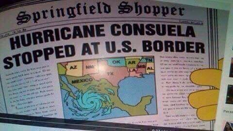 WTF THE SIMPSONS DID IT AGAIN #PrayForMexico #HurricanePatricia https://t.co/3T3yLwD91p