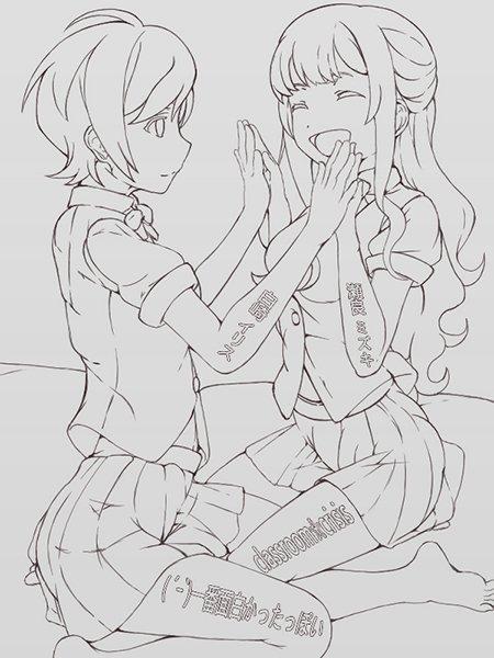 ( ´ー`)Classroom☆Crisisのヒロイン2人