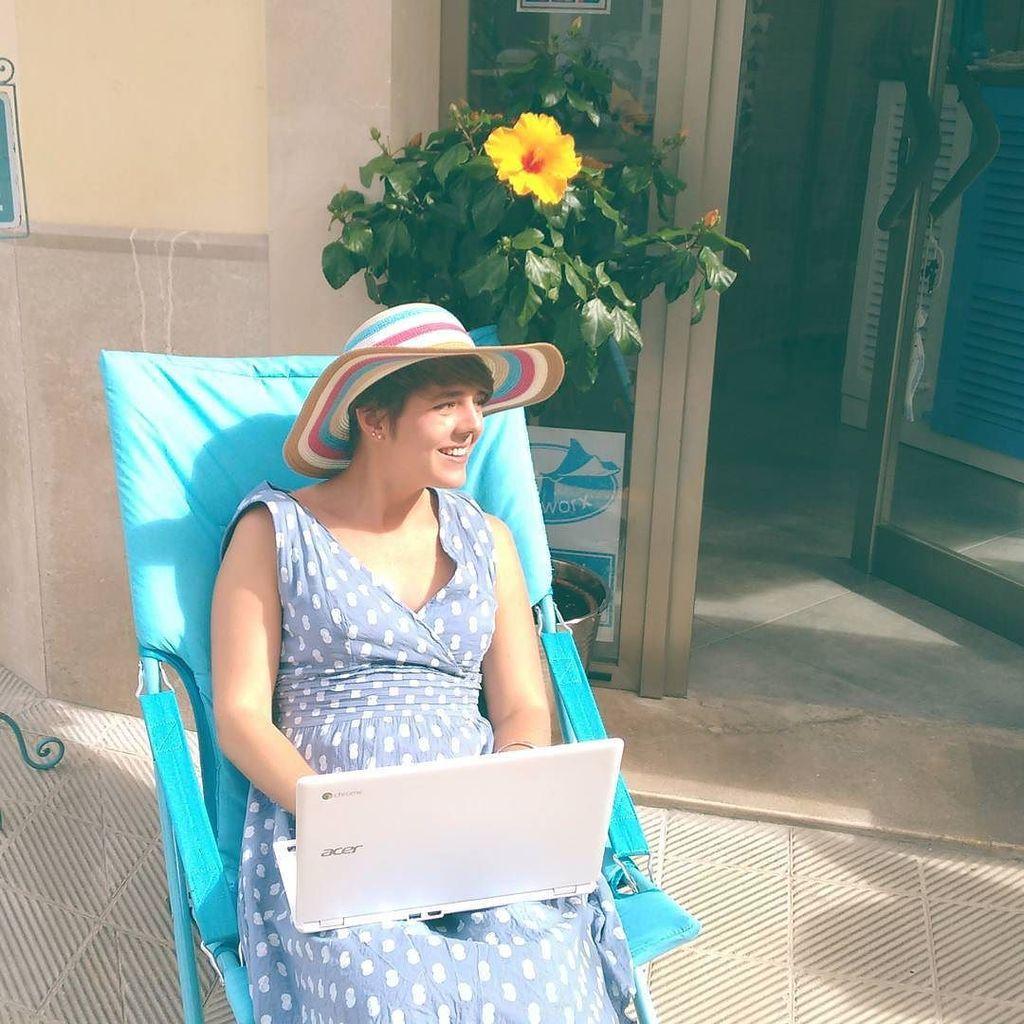 Hoy trabajo a fuera - heute arbeiten wir draussen - Sa Fira Santanyí https://t.co/G8JznoJfSh