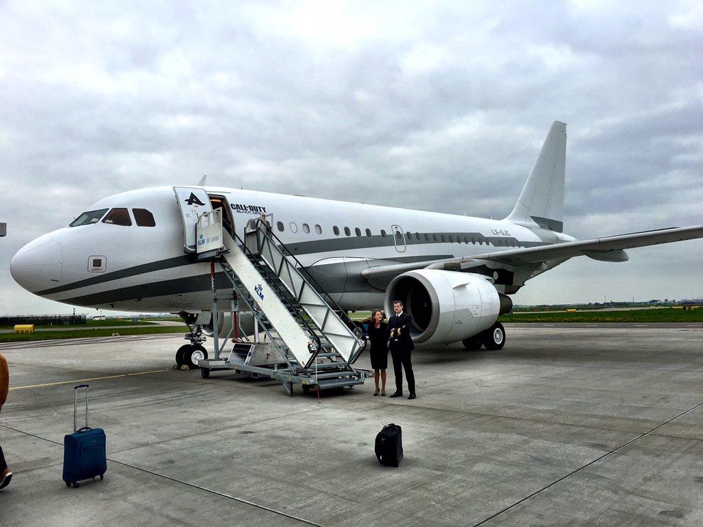 Ready for the next flight experience! @djafrojack #BO3Afrojack https://t.co/Ju9mKg2s6a