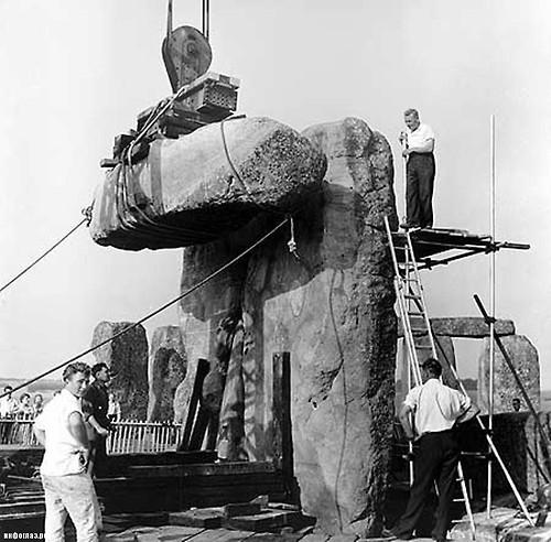 British Summer Time ends: Putting the clock back at Stonehenge https://t.co/i0xZ0RmGWj