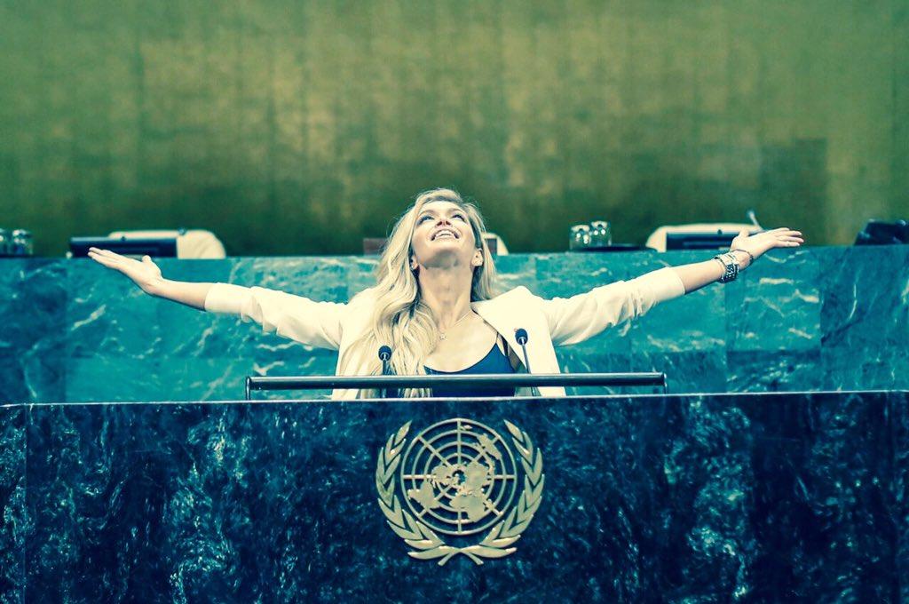 Сегодня#UN70!  #UNBlue #UnitedNations @UnitedNationsRU Спасибо@unaids_eeca @saldanhavp мы вместе! https://t.co/QtK6bl8BT7