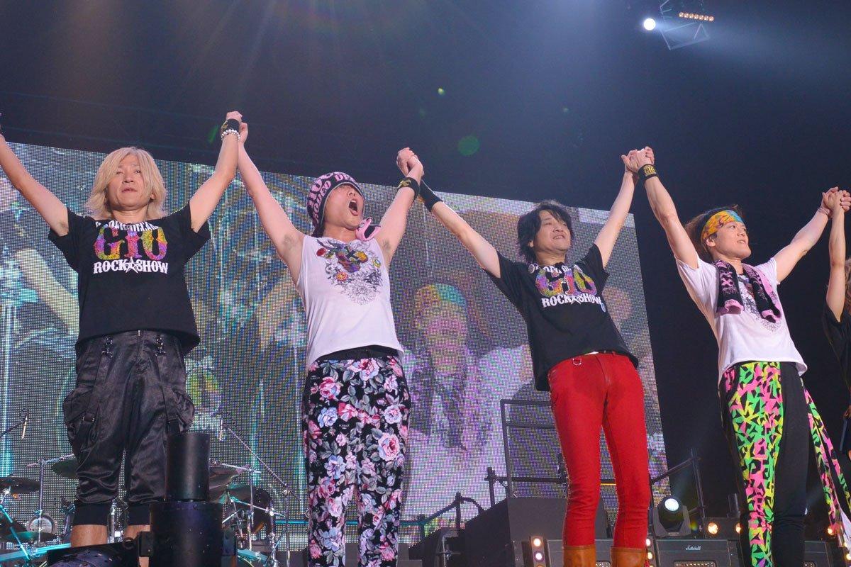 G10 ROCK☆SHOW一日目終了!!みなさんありがとうございました!明日もみなさんで10周年を盛り上げましょう!! https://t.co/G8Vk9gy1q9