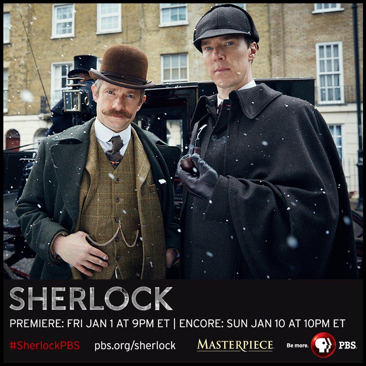#SherlockPBS: The Abominable Bride premieres 1/1 & encore 1/10 MASTERPIECE @PBS. NEW pics - https://t.co/3az8JwUINo https://t.co/Fi9YrHk7uz