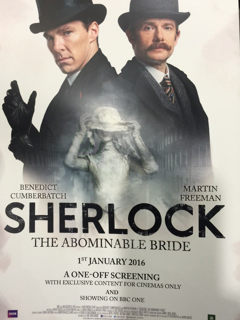 Well this is exciting... #Sherlock https://t.co/iZFJYeSgTY