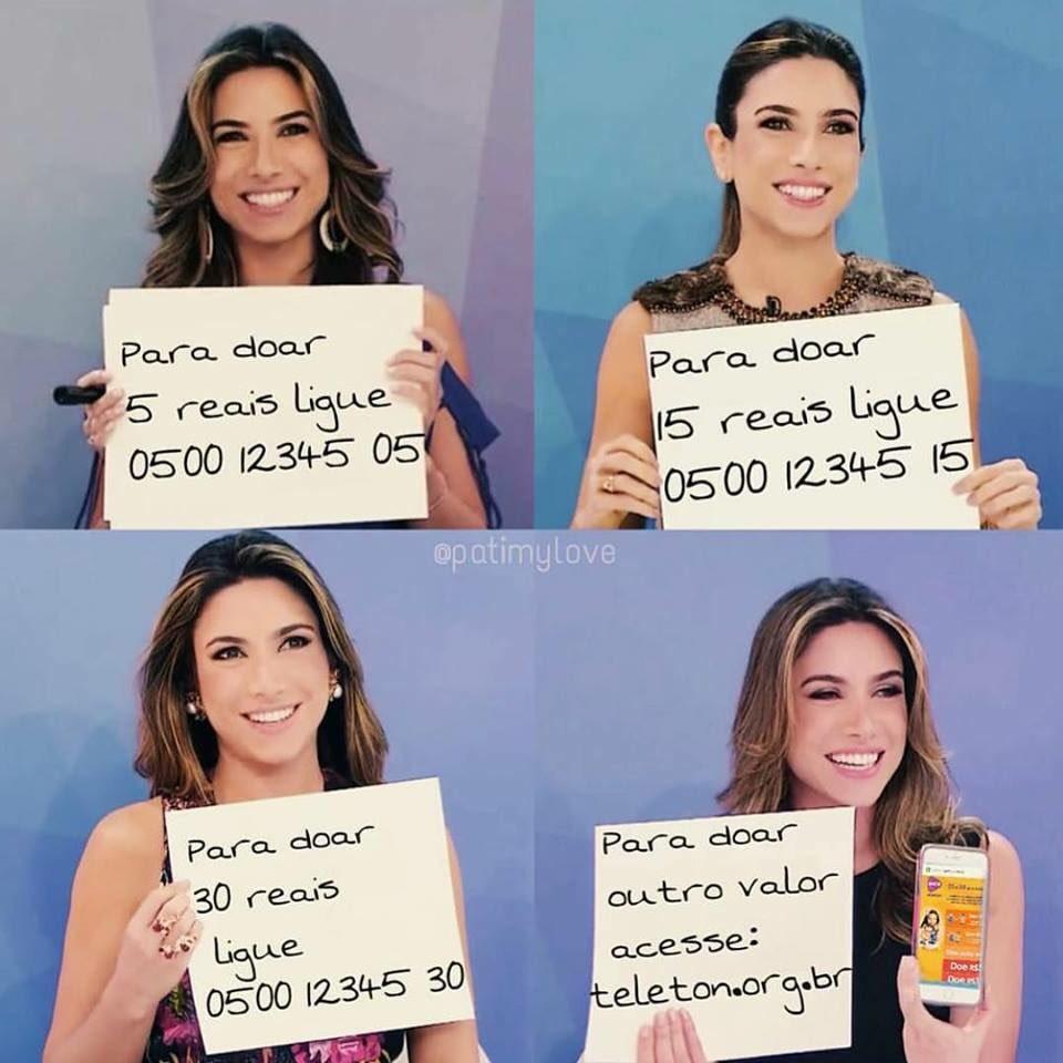 Se liga no recado da @PatiAbravanel!  @TeletonOficial   #SomosTodosTeleton #FazerObem https://t.co/JA35syoJD6