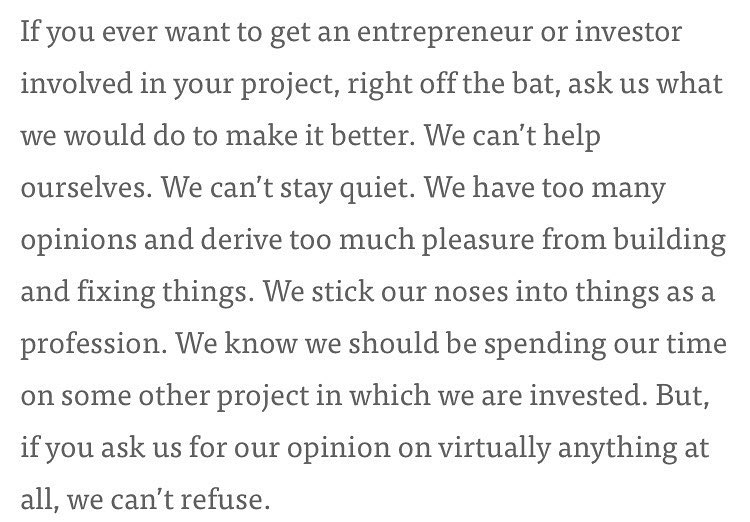 I'm a real big fan of this @sacca quote. Strong takes in this article about Shark Tank https://t.co/b9BUZezkAr https://t.co/l23ygg8D4Y