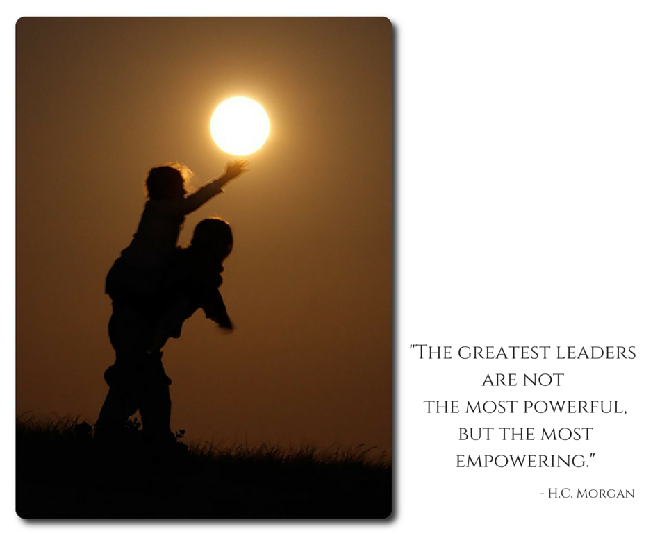 """""""The greatest leaders are not the most powerful, but the most empowering."""" - H.C. Morgan https://t.co/tKHorenpdK"""