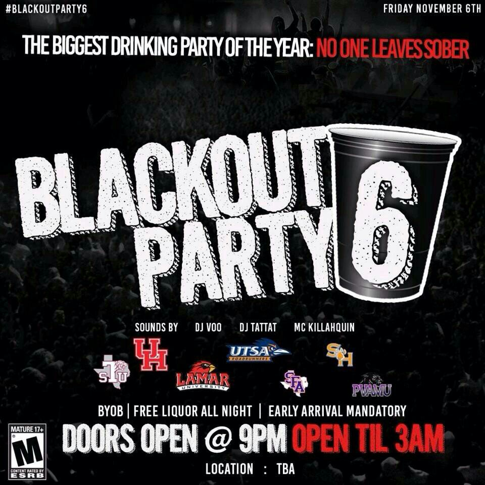#blackoutparty6 IS MORE THAN JUST A PARTY. NOV 6TH WE SHOOTING A MOVIE ! #PARTYANIMALZ  #RATEDR https://t.co/BIXLZlfcib