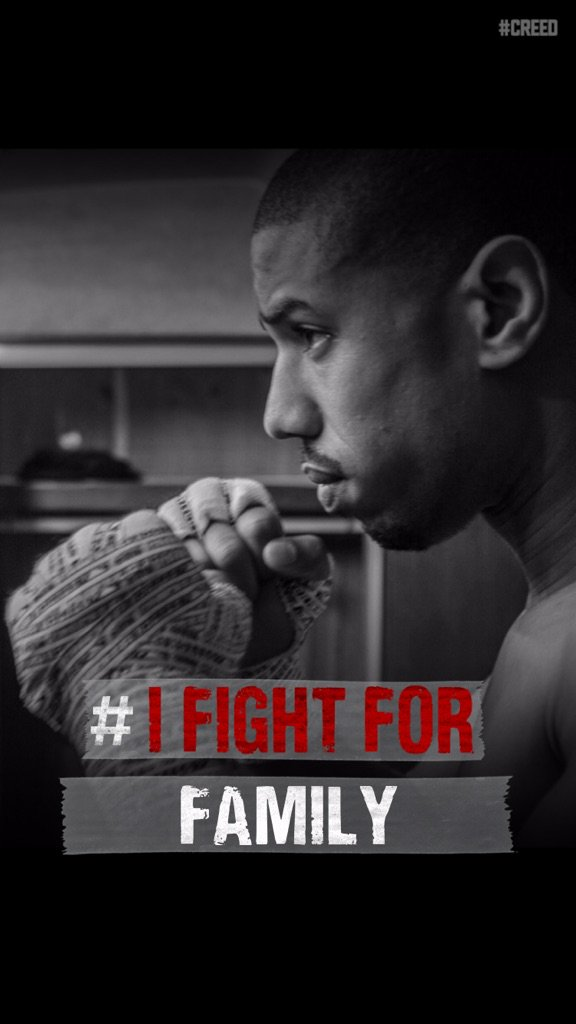So many things worth fighting for! #Creed https://t.co/9MRmAq8RAZ