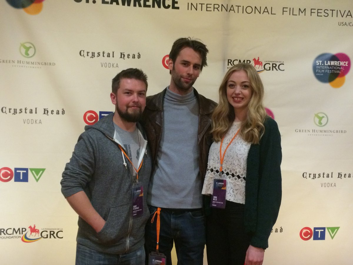 .@LagoonPictures @lixnawman and Emma Wills at the Canadian premiere of Darkness at the Edge of Town @stlawrencefilm https://t.co/g5brYnDDHh