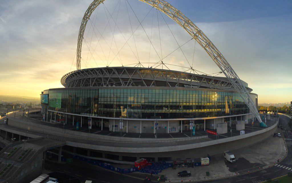 Wembley Stadium #JAXinUK https://t.co/J1KGwIrik4