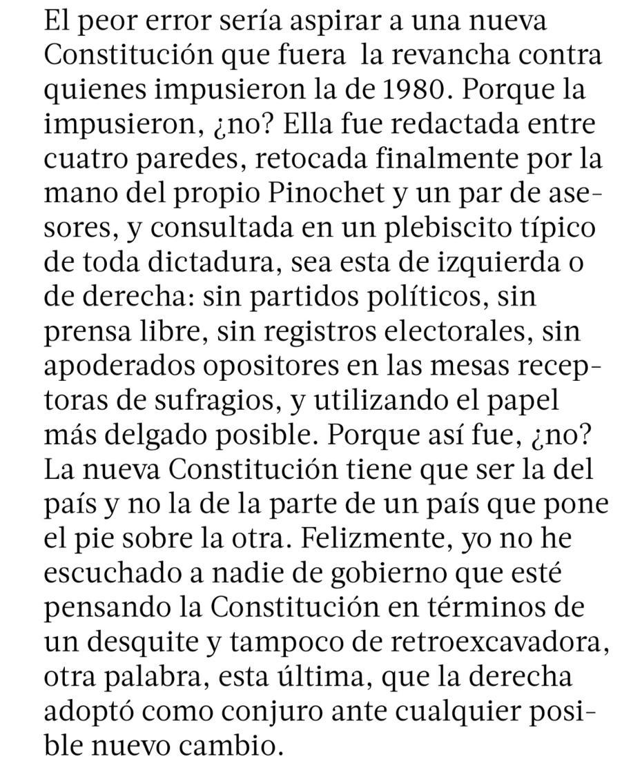 Agustín Squella, poniendo la pelota contra el piso... https://t.co/2o8ERpViXX