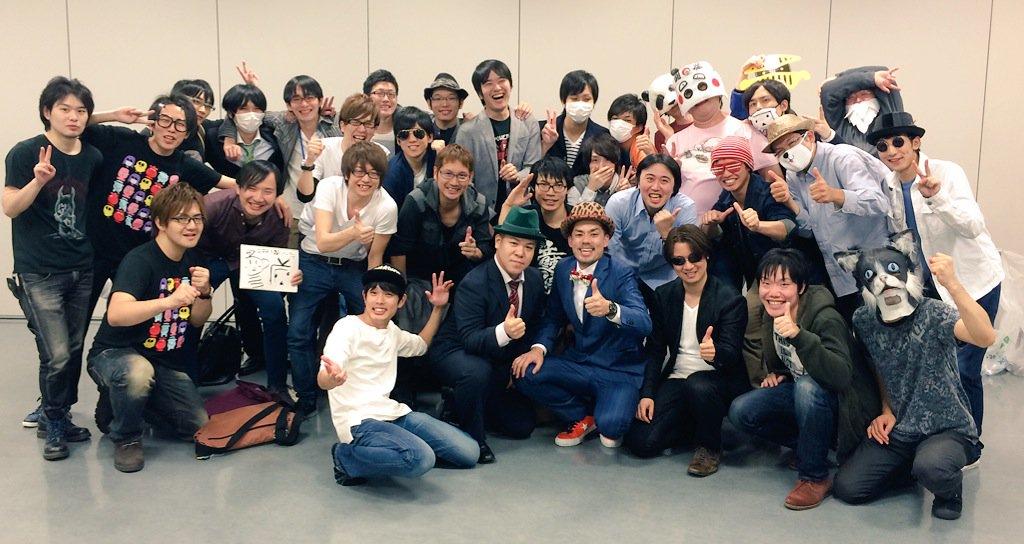 ニコニコ超パーティー2015 ゲーム実況ステージ、大団円で終了いたしました! クッソ盛り上がったで!みんなありがとうー!(^ν^)#超パ https://t.co/9k2vmLDkAQ