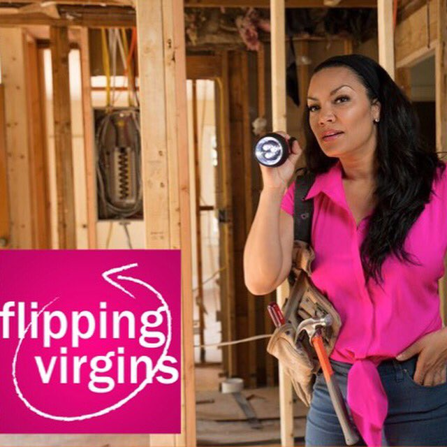 Goodmorning!! Rise, Shine, and tune into @FlippingVirgins today at 12noon EST on @HGTV