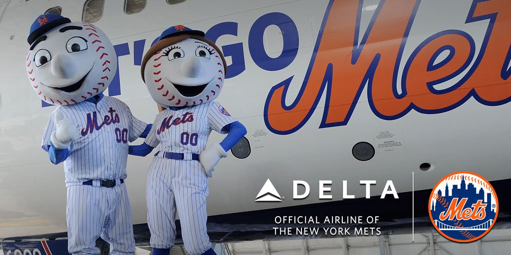 Reminder to RT this post here (https://t.co/mu5zENW37j) for a chance to go to Games 1 & 2! #DeltaMetsSweeps https://t.co/yV1f2APZjW