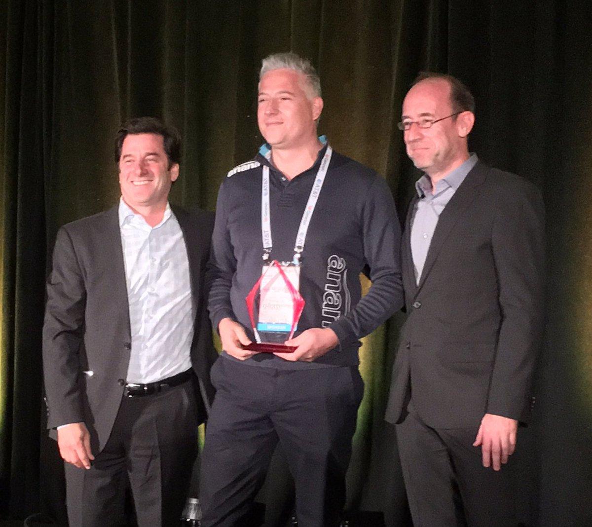 Congratulations @AnanaLTD - winner of the Genesys Partner Innovations Award for Technology! #GForce15 https://t.co/sYlUqSQ1Tz
