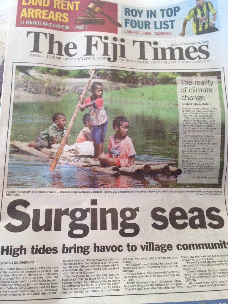 Climate change coverage in Fiji doesn't have the luxury of wallowing in privileged denial https://t.co/byrHrZHEe9