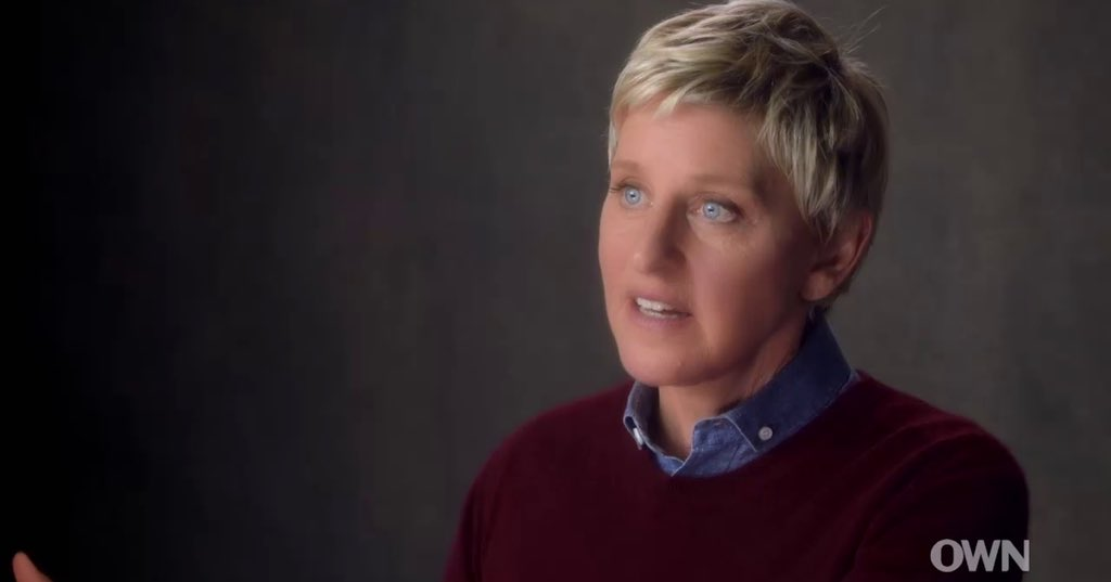 Watching @TheEllenShow on @Oprah's #MasterClass.  Love learning how a strong woman worked her way to the top. https://t.co/SSwwviK1Qa
