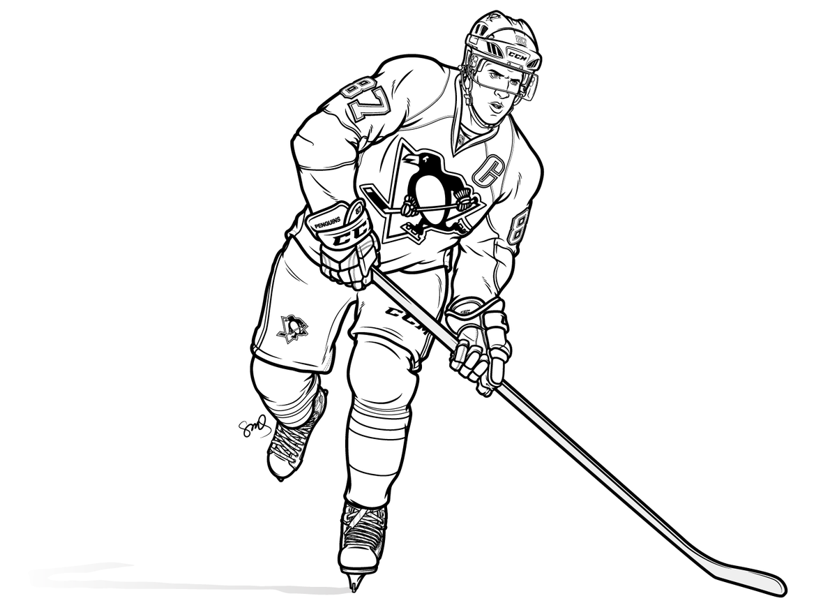 Crosby outline is complete. Phil! is on deck. https://t.co/pQZYwdACLg